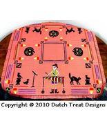 Jingle Bones Tabletopper cross stitch chart Dutch Treat Designs - $8.00