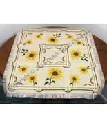 Sunflower Tabletopper cross stitch chart Dutch Treat Designs - $8.00