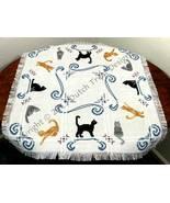 Cats Tabletopper cross stitch chart Dutch Treat Designs - $8.00