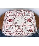 Red Stitches Tabletopper cross stitch chart Dutch Treat Designs - $9.00