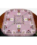 Daisy Bug Tabletopper cross stitch chart Dutch Treat Designs - $8.00