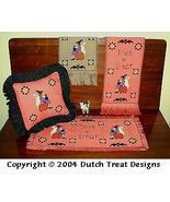 3 For Halloween cross stitch chart Dutch Treat Designs - $8.00