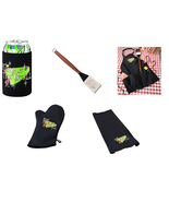 king of the grill cozy,spatula, apron, mitt, or towel dad gift grill acc... - $1.97+