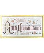 Auld Aquaintance cross stitch chart Dutch Treat Designs - $8.10