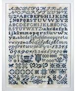 Bristol Grace Sampler cross stitch chart Dutch Treat Design - $8.10