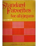 Standard Favorites for All Organs - $15.00