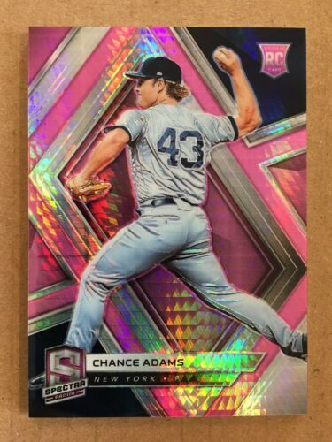 Primary image for 2019 Panini Chronicles Chance Adams #74 Rookie Baseball Card Yankees /75 NB1