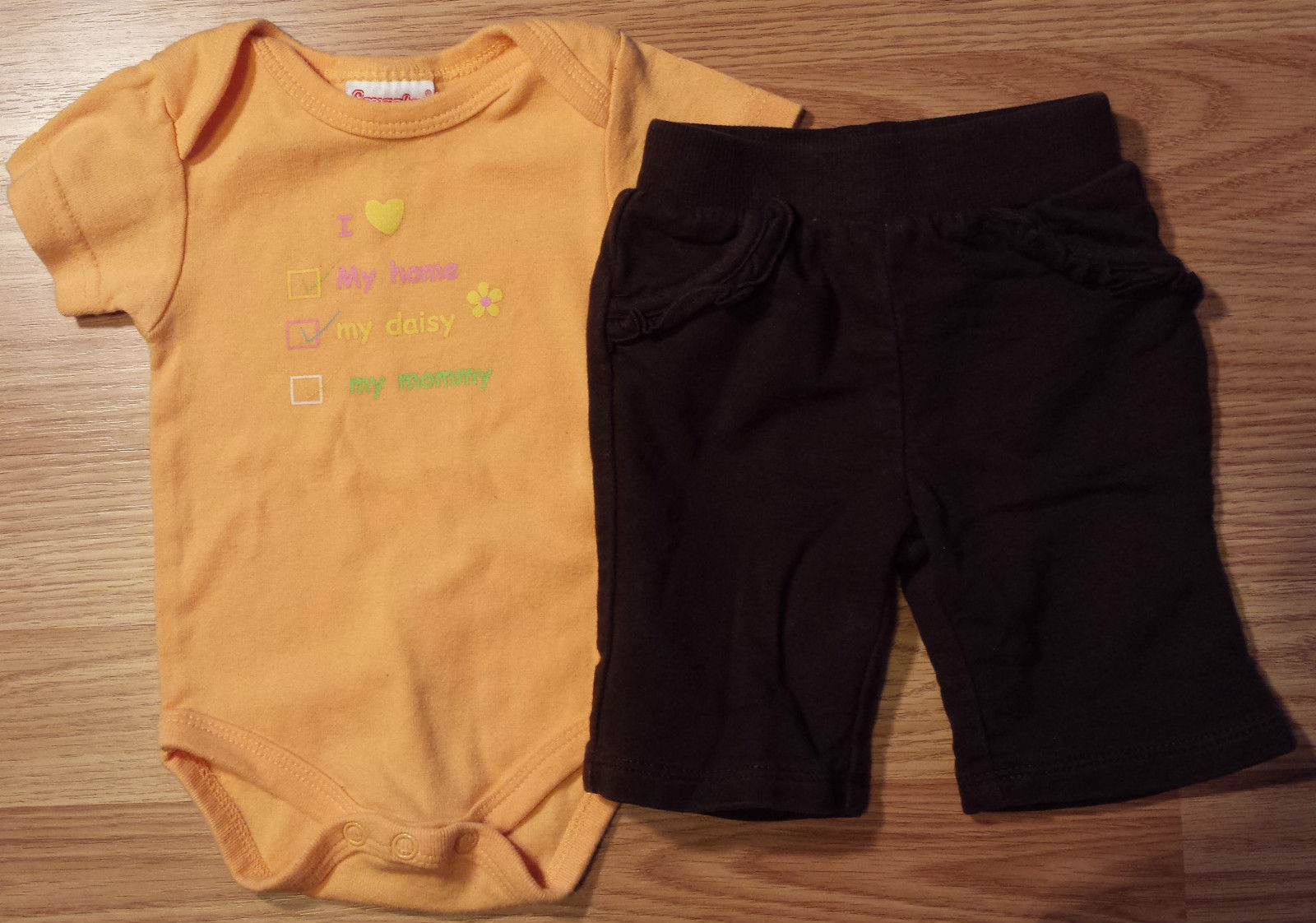 8f027a3e0 Girl's Size NB Newborn Two Piece Orange I and 45 similar items. S l1600