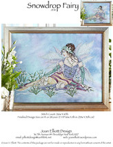 Snow Drop Fairy JE111 cross stitch chart Joan E... - $14.00