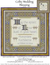 Celtic Wedding Blessing JE065  cross stitch chart Joan Elliott Designs - $14.00