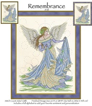 Remembrance  JE118 cross stitch chart Joan Elliott Designs - $14.00