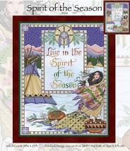 Spirit Of The Season JE126  cross stitch chart Joan Elliott Designs - $14.00