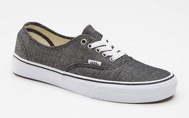 Vans Classic Authentic Black Shoes MEN'S GUYS  SNEAKERS  SKATERS  NEW - $46.99