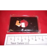 1 Gang Brown  Wall Plate Single Receptacle with 1.40 inch hole - $5.95