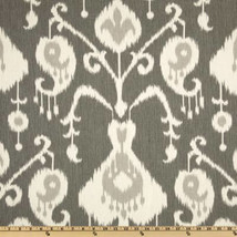 GREY IKAT LINENS -Table runner, Magnolia pewter, charcoal grey, napkins, placema - $14.00