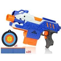Plastic Gun Toy and 20pcs Soft Bullet Dart Weapon Suit Gun Sniper Christ... - $32.99