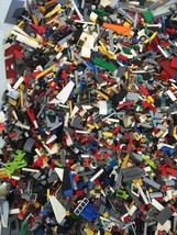 2 POUNDS OF LEGOS Bulk lot Bricks parts pieces 100% Lego Star Wars 1 min... - $18.77
