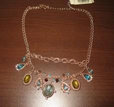 """Beyond The Sea"" Topaz & Peridot Gemstone Necklace by 2028 14.5-17 in Ne... - $29.99"
