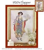 1920's Flapper JE123 cross stitch chart Joan Elliott Designs - $14.00