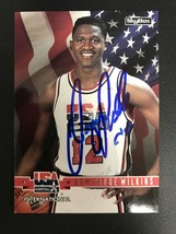 Dominique Wilkins Signed Autographed 1994 Skybox Team USA Basketball Card - $14.99