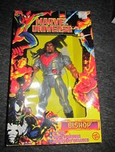 "MARVEL COMICS - MARVEL UNIVERSE - Bishop 10"" ACTION FIGURE - 1997 MIB - $32.99"
