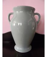 """12"""" Tall Studio Pottery . Seafoam Green - $150.00"""