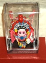 Mu Guiying Song Dynasty Warrior Ornate Figurine Display Case MIB - $23.74