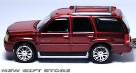 KEY CHAIN RED REDDISH BROWN MAROON CADILLAC ESCALADE NEW CUSTOM LIMITED ... - $44.98
