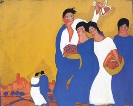 Salvador Dali - Santa Creus Festival in Fi - Poster Canvas art print A4 ... - $3.28+