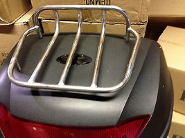 """BLACK 23""""x17"""" Universal motorcycle scooter trunk luggage top case hard t... - $89.00"""