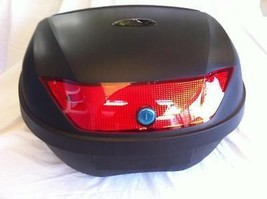 NEW EXTRA LARGE MOTORCYCLE TRUNK TOP CASE HOLD 2 HELMETS CB 350 CL 450 H... - $87.00