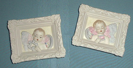Lefton China  2 Cherub plaques They are adorable! - $75.00