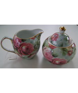 Rose Chintz Sugar & Cream From A Special Place China NIB  - $15.00