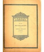 Mendelssohn Capriccio Brillante - $25.00
