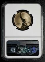 2018 S AMERICAN INNOVATION $1 REVERSE G.WASHINGTON SIGNED NGC PF70 Coin SKU# C74 image 2