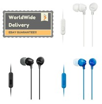 Sony MDR-EX15AP In Ear Stereo Earphones Headphones Ipod MP3 Earbuds New With Mic - $17.99