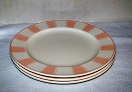 peach 3 dinner plates added to cart only one available in stock