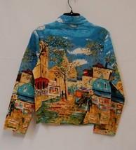 Take Two Clothing Co Light Jacket Layering Shirt Medium Multi Bright Colors image 2