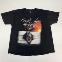 Roger Waters Tour 2012 T Shirt Men's Size XL Short Sleeve Black Crew Neck Cotton - $17.99
