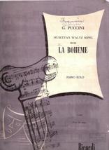 Musetta's Waltz Song From La Boheme - $11.00