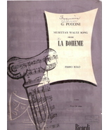 Musetta's Waltz Song From La Boheme - $11.00