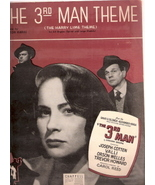The 3rd Man Theme (the Harry Lime Theme) Organ Music - $25.00