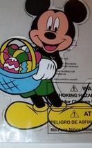 Disney Mickey Mouse Easter Window Gel Cling Eas... - $6.99