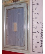 1 Gang Clear Wall Plate for Wallpaper  Single Toggle 74275 - $4.57