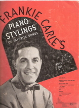 Frankie Carle's Piano Stylings of Favorite Songs - $30.00