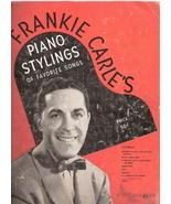 Frankie Carle's Piano Stylings of Favorite Songs - $30.00