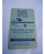 Quarter Coin Saver - Kittanning Savings And Loan Association - Altoona ,... - $15.00
