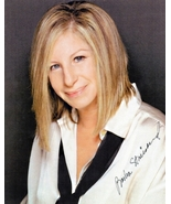8 x 10 Autographed Photo of Barbra Streisand RP - $2.19
