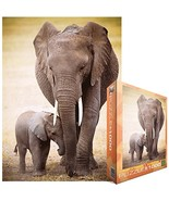 Eurographics Jigsaw Puzzle 1000 Pieces, Elephant And Baby - $16.47