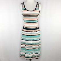 NWT Jessica Simpson Womens Sz XS Crochet Chevron Stripe Dress - $28.80